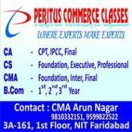 Peritus Commerce Classes BCom Tuition institute in Faridabad
