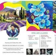 Imran Beg Fine Arts institute in Lucknow