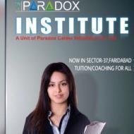 Paradox Institute Class 11 Tuition institute in Faridabad